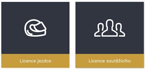 Volba účelu licence