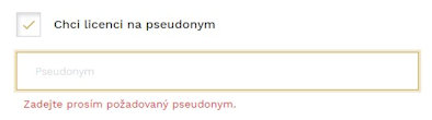 Licence na pseudonym